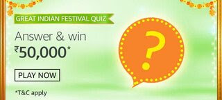Amazon Great Indian Festival Quiz