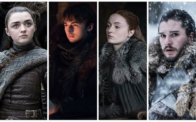 Os Starks estarão no spin-off de Game of Thrones