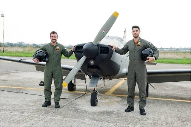 70° Stormo: terminato l'addestramento di due piloti della Guardia Costiera