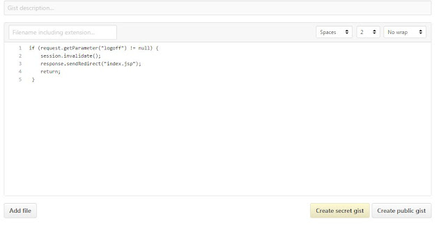 memasukkan code di blogger