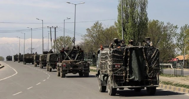 जम्मू-कश्मीर में भारत की सेना की लामबंदी ने अफवाह फैलाई, पाकिस्तान को अगस्त 2019 जैसा कुछ बड़ा होने का डर।(Large Troop Movement In J&K )