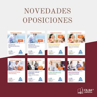 Oposiciones, en Librería Cilsa