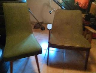 krzesło PRL patyczak