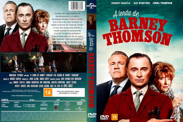 Capa DVD A Lenda De Barney Thomson