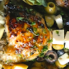 One Pot Olive Chicken Dinner Recipe with Lemon Rice