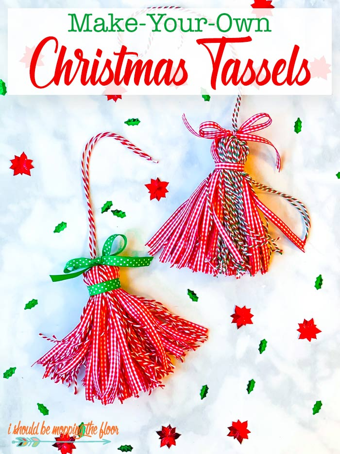 How to Make Christmas Tassels