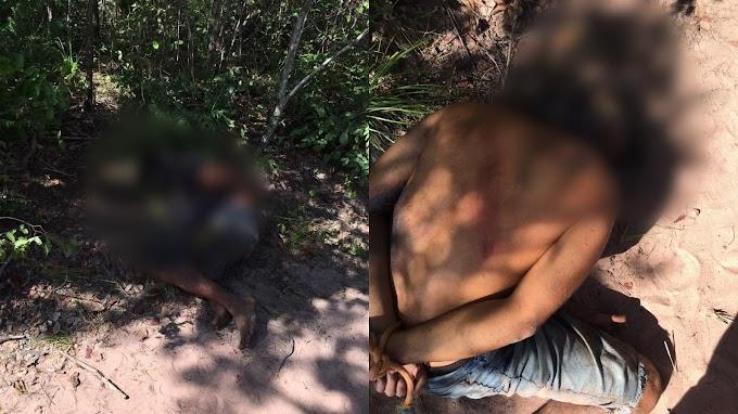 URGENTE: População amarra suspeitos de roubo na zona rural de São Bernardo (MA)