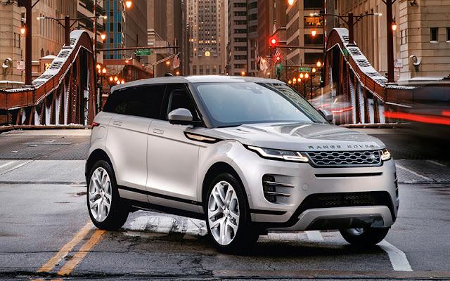 Range Rover Evoque trang bị rất nhiều công nghệ và tiện nghi trên xe