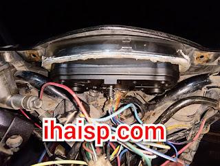 Jupiter MX Old Pakai Spedometer GSX-R150, Apakah Semua Fitur Berfungsi?
