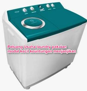 Peluang Usaha laundry pakaian modal kecil keuntungan menjanjikan