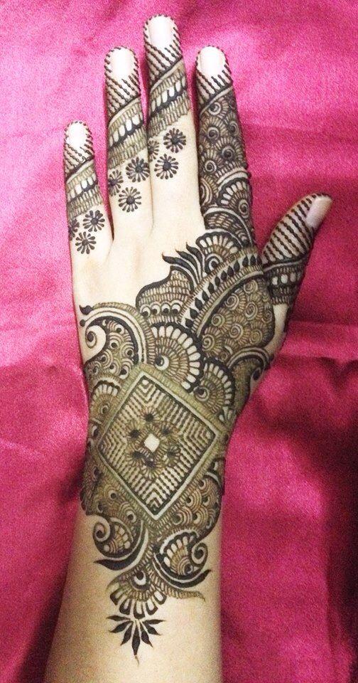 Henna Mehndi Rose Design For Eid : Stunning mehndi designs for eid bling sparkle