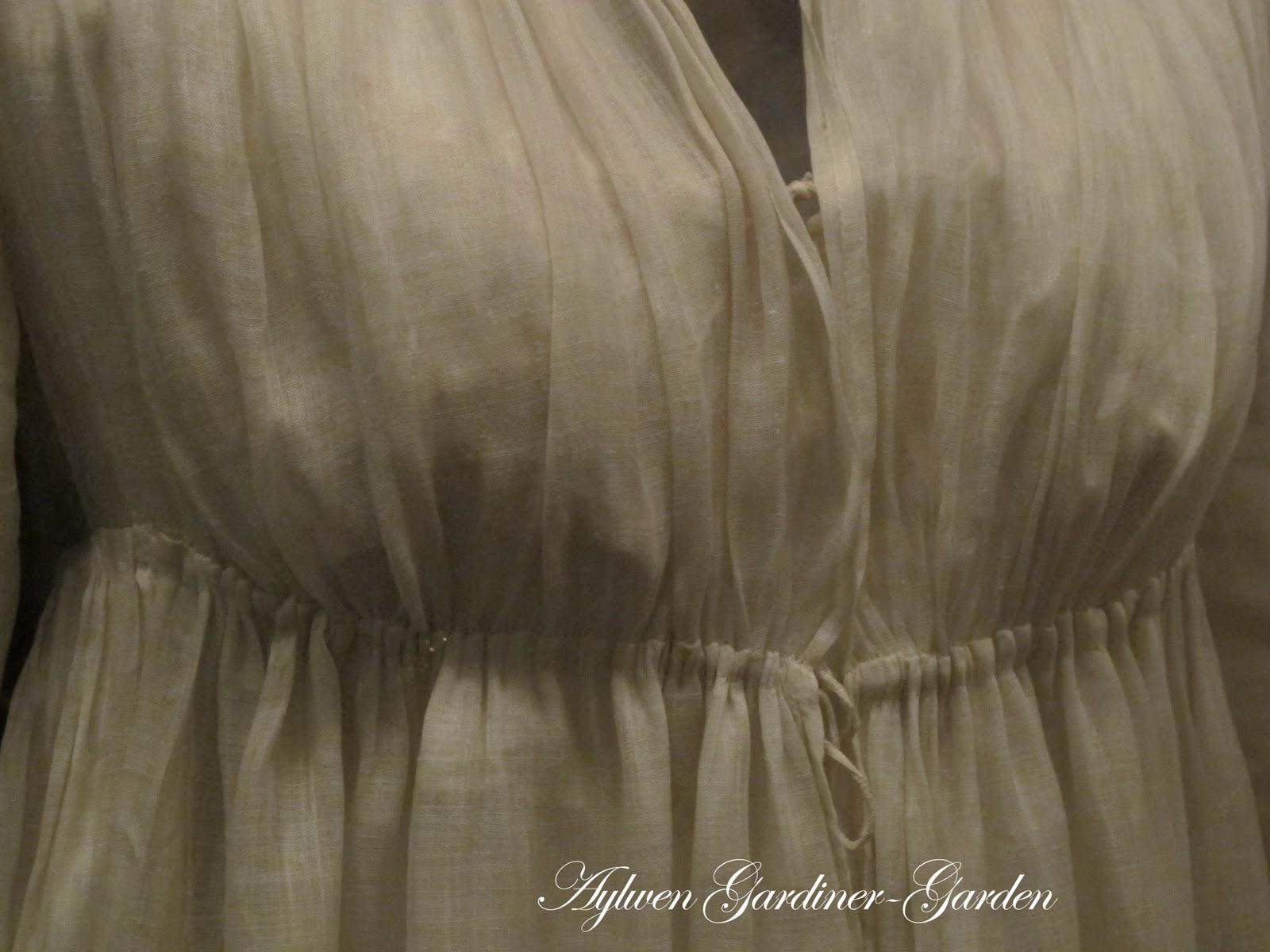 Aylwen Gardiner-Garden: My Tidens Tøj Regency Gown (updated)