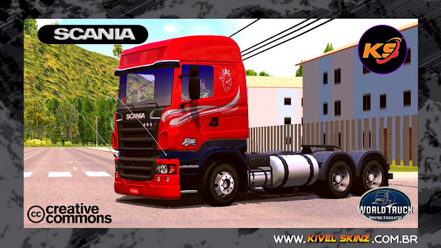 SCANIA R620 - SILVER LINE EDITION RED
