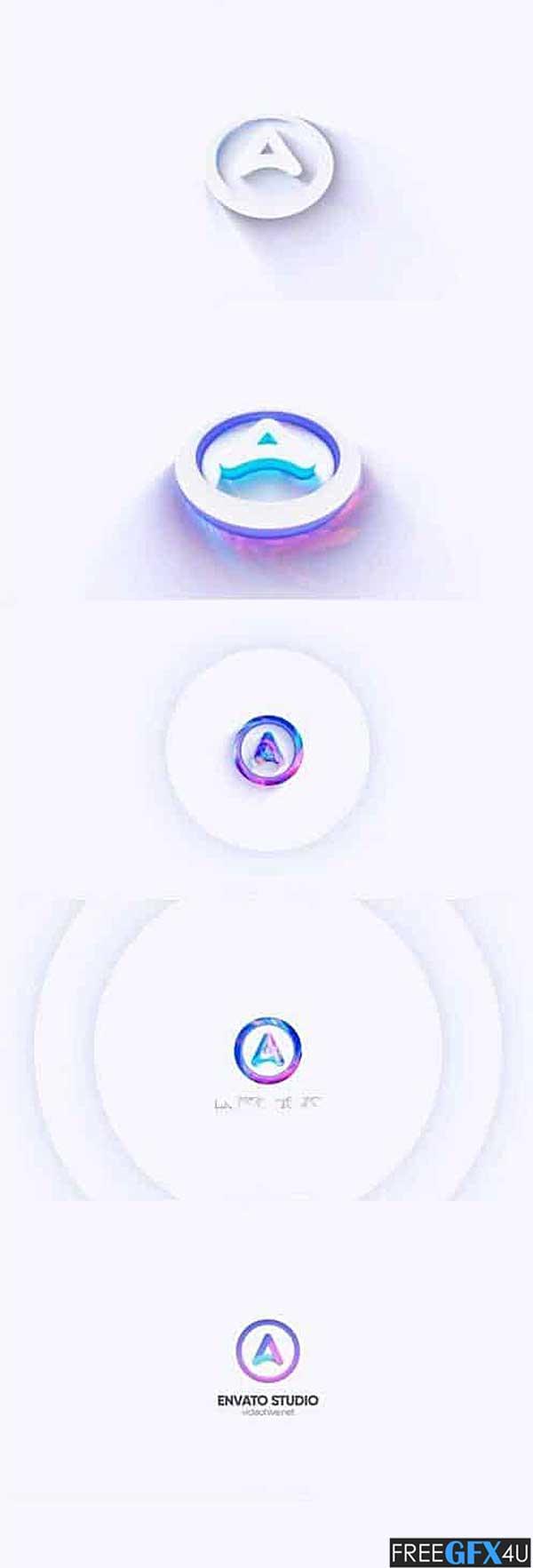 Glowing Logo Reveal
