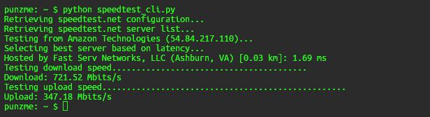 Mengetes Kecepatan Server VPS
