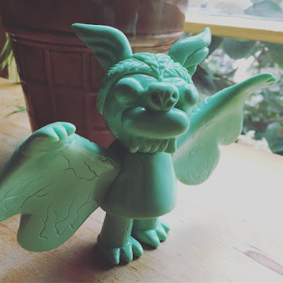 Jungle Boogie Steven the Bat Mixed Parts Edition Vinyl Figure by Bwana Spoons