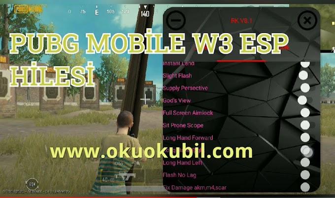 Pubg Mobile 0.18.0 Güncel Walter Black W3 ESP hilesi Root Yok Ban Yok İndir 2020