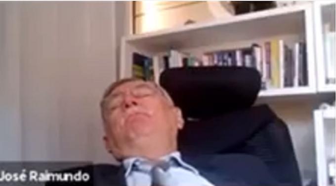 Procurador de Justiça dorme durante sessão on-line na Paraíba e vídeo viraliza na web; veja