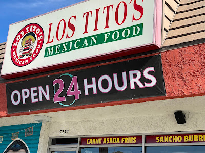 exterior of Los Tito's in La Mesa, California