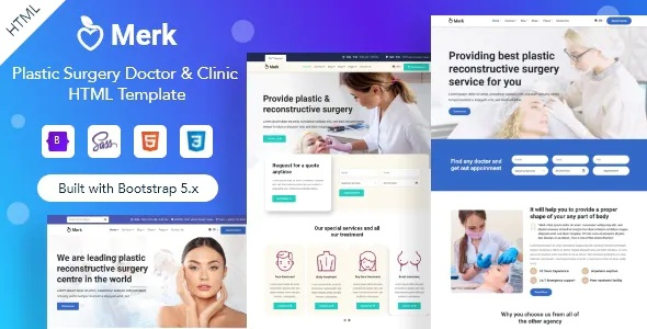 Best Cosmetic and Plastic Surgery HTML Template