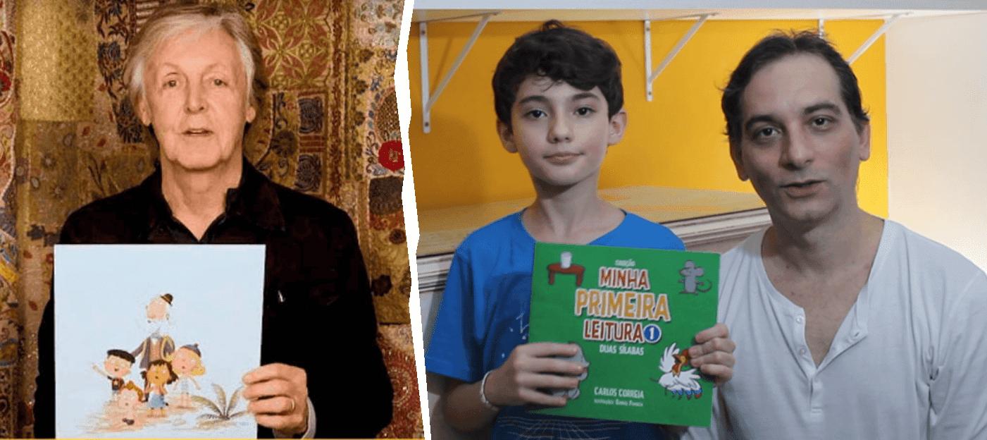 Paul McCartney lança seu livro infantil e eu também lancei meu livro infantil!