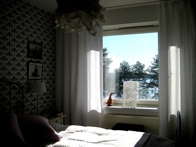 makuuhuone, ikkuna