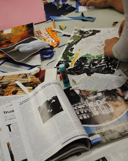 Megan Coyle Collage Workshop