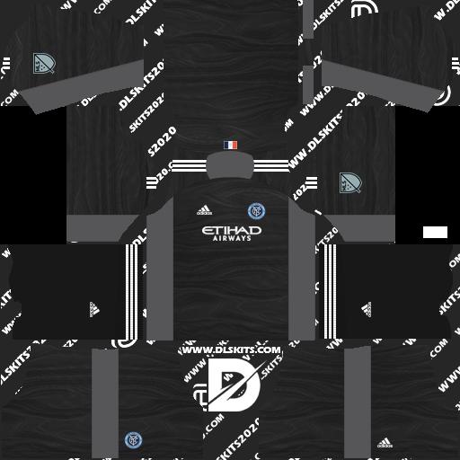 New York City Kits 2021-2022 Adidas -Kit Dream League Soccer 2019 (Home Goalkeeper)