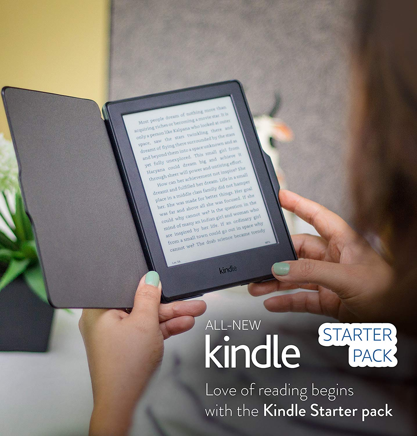 Starter Pack | Kindle | All-in-One at Just Rs 6,998 00 and