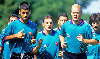 Guardiola has revealed that Koeman shaped his way of looking at defenders.