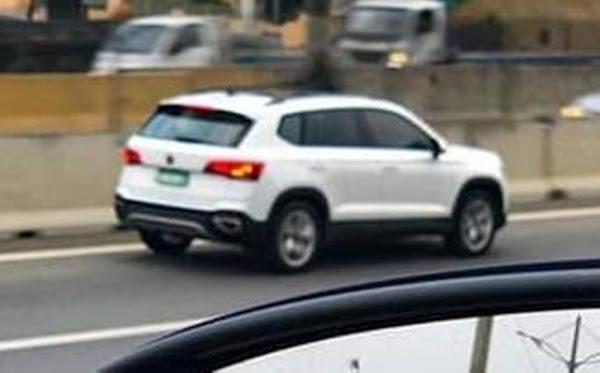 VW Taos segue em testes finais para lançamento no Brasil