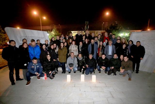 """""""Πέντε κινήσεις για μια σιωπή"""" - Εκδήλωση με θέμα τις Γενοκτονίες πραγματοποιήθηκε στην Κατερίνη"""