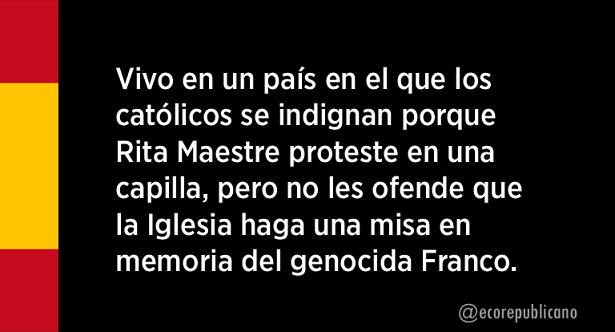 La Catedral de Valencia dedica una misa el 18 de julio en memoria de Franco