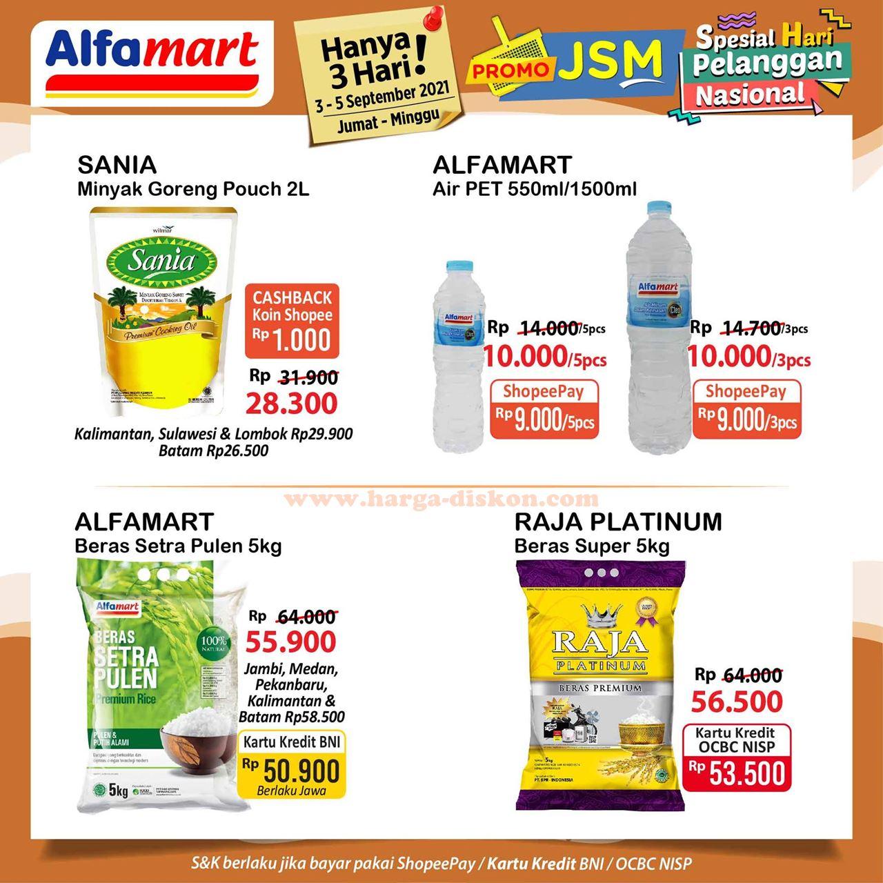 Promo ALFAMART Akhir Pekan Weekend Promo JSM 03 - 05 September 2021