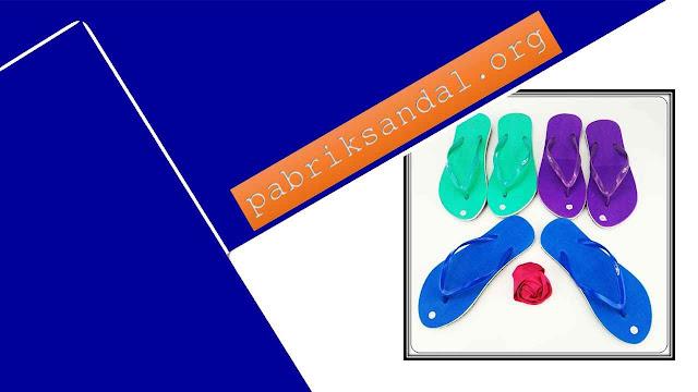 Pabrik Sandal Jepit Polos Termurah - Sandal AB Cewek Polos Simplek