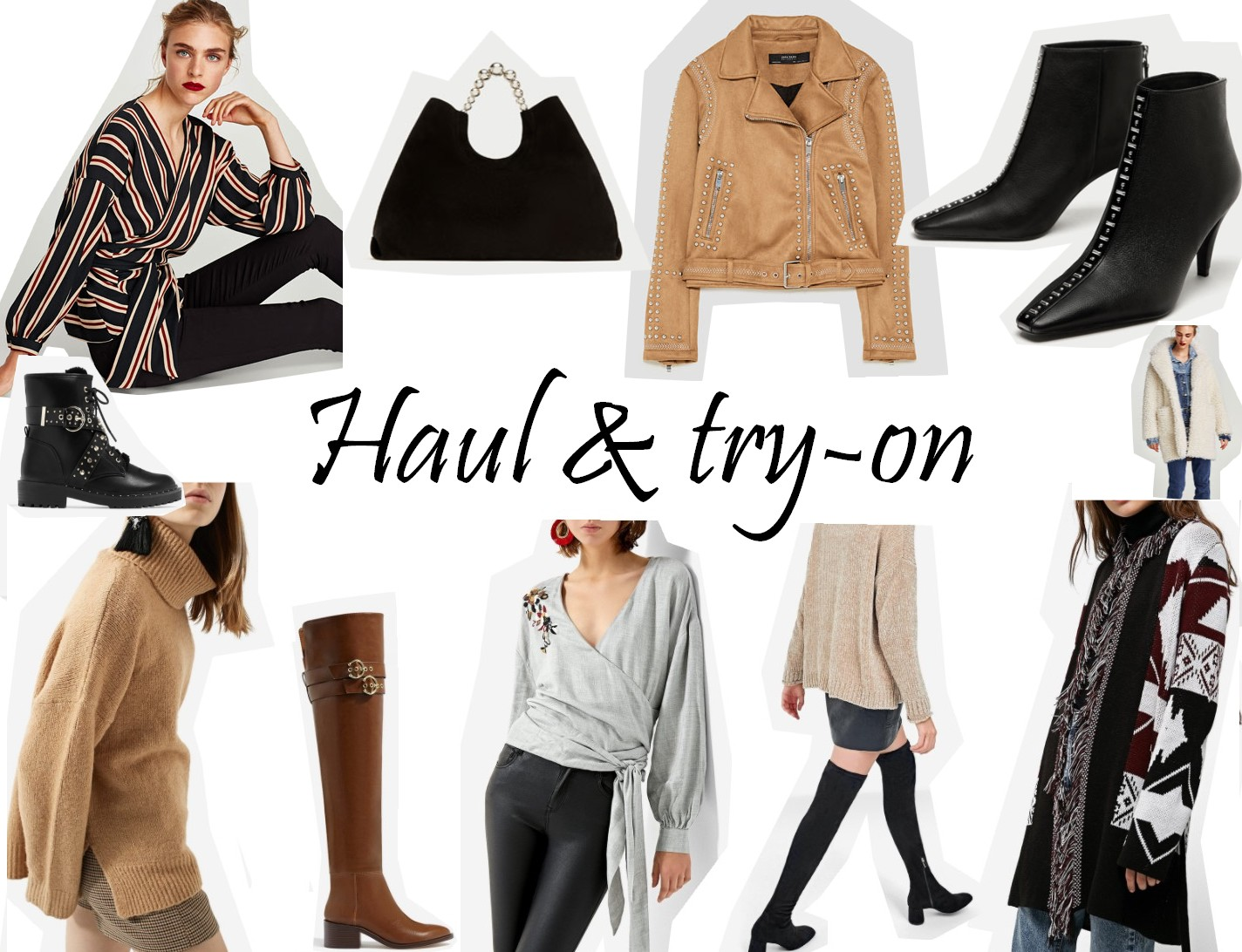 fashion-haul-mode-zara-stradivarius-asos-boohoo
