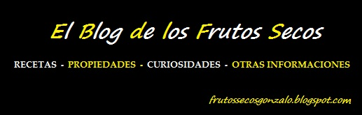 Los frutos secos.