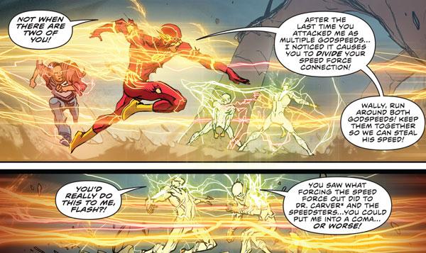 kekuatan flash dc comics, kekuatan superhero flash, speedster tercepat