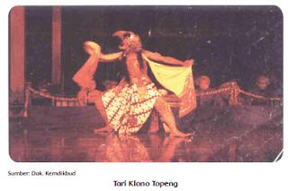 Tari Klono Topeng www.simplenews.me