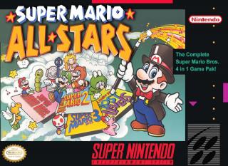 Capa do jogo Super Mario All Star para Snes