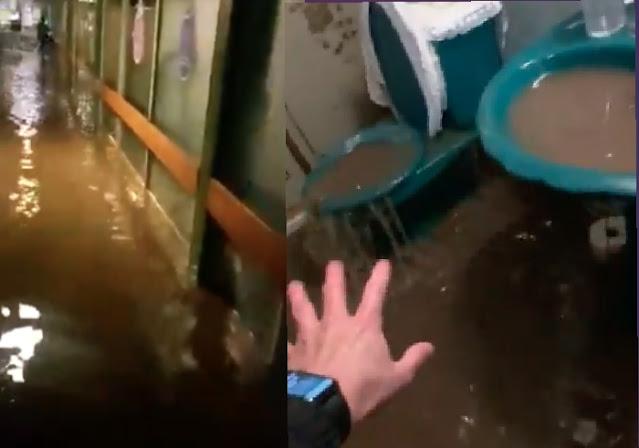 Calles, casas y hospitales: así continúan las inundaciones en Atizapán y Naucalpan