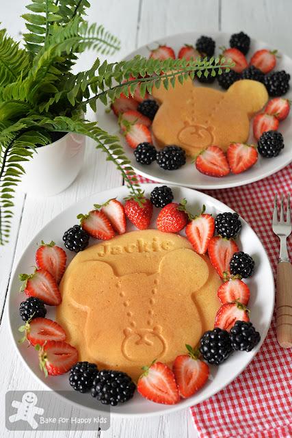 Japanese pancakes hotcakes パンケーキ