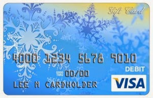 visa gift card photo