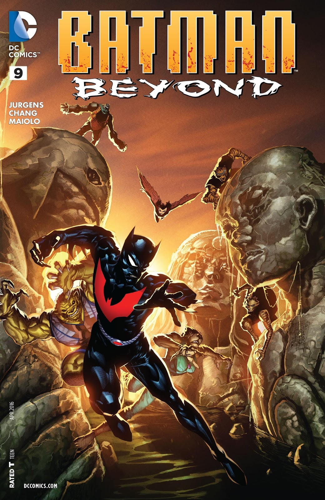 Batman Beyond Good Bad Dog