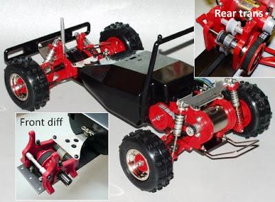 Hirobo 44B chassis
