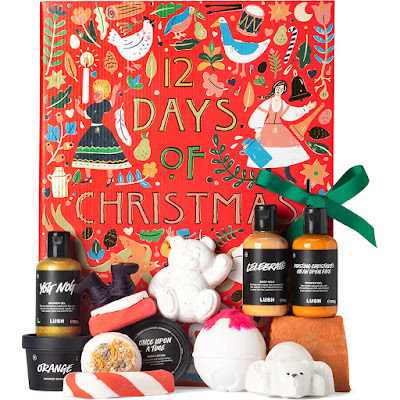 Lush 12 Days of Christmas Advent Calendar 2020
