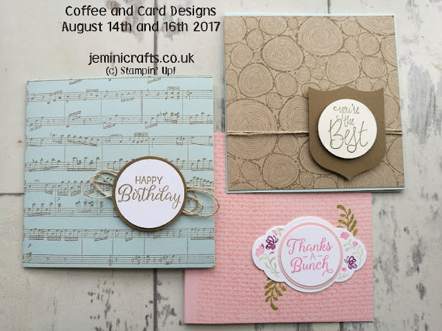 Background stamps make great small cards. jeminicrafts.co.uk