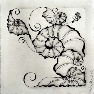 Square One Purely Zentangle Sept 18-24 with tangle Ohana