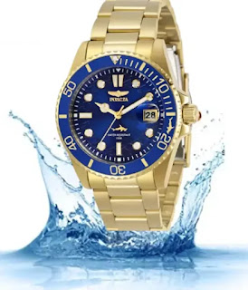 Invicta Women's Pro Diver Quartz Gold Watch