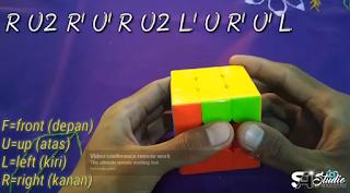 Rumus Rubik 3x3 Keempat